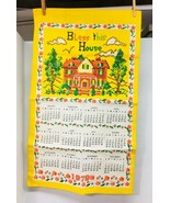 Vintage Never Used Linen Kitchen Towel 1979 Bless this House  Amazing Co... - $16.34