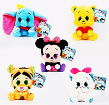 "Disney Plush Toy Jumbo Pooh Mickey Mouse Tiger Marie 8""/20cm Large Glitt... - $29.98"