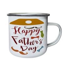 Lovey You Dad Father's Day New Retro,Tin, Enamel 10oz Mug b488e - $13.13