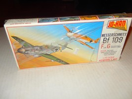 VINTAGE JO-HAN MESSERSCHMITT BF 109 1/72ND  PLASTIC MODEL KIT -- NEW- J89 - $17.63