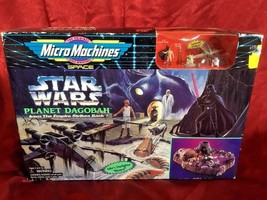 Vintage 1994 Star Wars Micro Machines Miniatures Planet Dagobah NIB! - $46.74