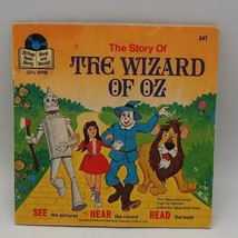 "Vintage Walt Disney's The Wizard of Oz Book & Record 33 1/3 RPM Record 7"" - $5.93"