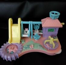 POLLY pocket mimi and the goo goos playground playset - $6.92