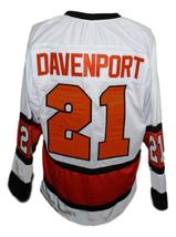 Custom Name # Baltimore Clippers Retro Hockey Jersey 1970 New White Any Size image 4