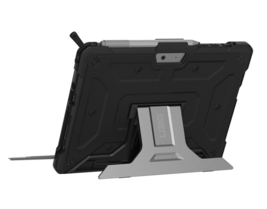 UAG Microsoft Surface Go Feather-Light Rugged [BLACK] Aluminum Stand Case - $18.04