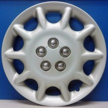 """ONE 2000 Chrysler Sebring Convertible # 538B 15"""" Silver Hubcap Wheel Cover USED - $29.99"""