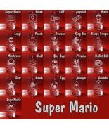 Set of 6 Shot Glasses Super Mario bros, Bullet Bill, Bomb Egg, Blooper, ... - $39.99