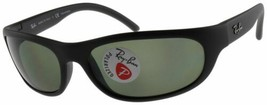 Ray Ban Predator Polarized Sunglasses RB4033 601S48 Matte Black W/ G-15 ... - $79.19