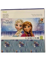 Cricut Disney Frozen Adventure And Magic Deluxe Paper- New And Sealed - $13.26