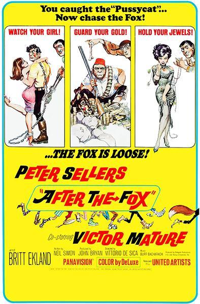 Primary image for After The Fox - 1966 - Movie Poster