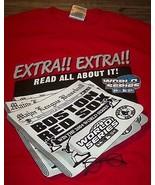 BOSTON RED SOX MLB World Series Champions 2004 EXTRA EXTRA  T-Shirt XL NEW - $19.80