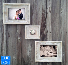 Gallery Wall (All Finishes) - Includes 2- 11x14 Frames & 1- 5x5 Frame - The Loft - $182.00
