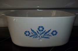 1 Corning Ware A-5-B 5 Quart Cornflower Baking Dish - $35.19