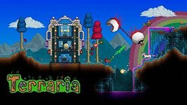 TERRARIA Party Personalized Birthday Edible Frosting Image 1/4 sheet Cake Topper - $9.99