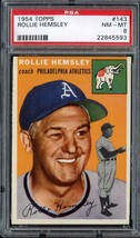 1954 TOPPS #143 ROLLIE HEMSLEY PSA 8 ATHLETICS *DS3306 - $69.00