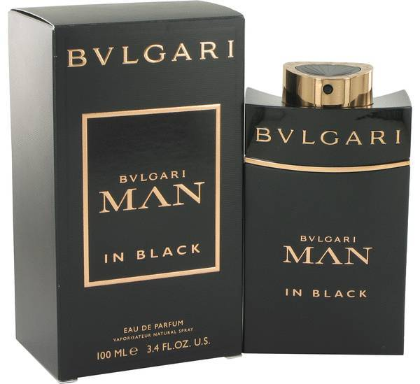 Bvlgari Man In Black Cologne 3.4 Oz Eau De Parfum Spray