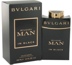 Bvlgari Man In Black Cologne 3.4 Oz Eau De Parfum Spray image 1