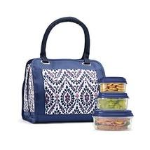 """Fit and Fresh 961FFWB1906 Fit & Fresh Ashland Lunch Bag Kit, 9.5""""W X 6""""D X 8.5""""H"""