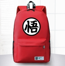 Dragon Ball Goku Symbol Awesome Design School Backpack Red - $59.90