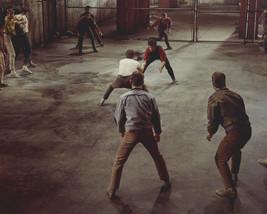 George Chakiris In West Side Story Knife Fight Scene 16X20 Canvas Giclee - $69.99