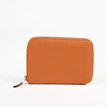 "Hermes Epsom Leather ""Azap Compact"" Wallet - $735.00"