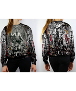 Baphomet Satanic Goat Head Sweatshirt Women - $29.99+