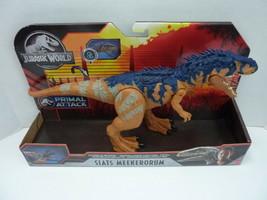 2 NEW - Jurassic World Tarbosaurus & Siats Meekerorum Primal Attack Biters - $59.35