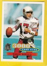 DAVE KRIEG 1996 TOPPS 3000 YARD CLUB ST. LOUIS CARDINALS  - $1.98