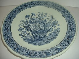 Boch Royal Sphinx Holland Delft Floral Charger Plate         RIA - $74.99
