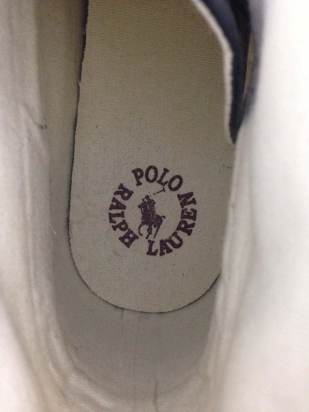 Ralph Lauren Polo Mens 10D Burgundy Lace Up Lander Chukka Sneakers Shoes