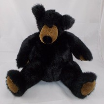 "Manhattan Toy Co Black Bear Plush Sits 10"" Stuffed Animal toy - $16.95"
