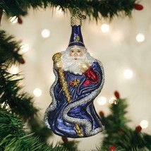 Old World Christmas Wizard Glass Christmas Ornament 24192 - $16.88