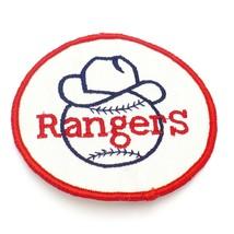 Vintage Rangers Patch Texas Rangers - $12.82