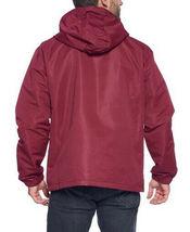 Red Label Men's Lightweight Nylon Hooded Water Resistant Zip Up Rain Jacket image 3
