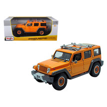 Jeep Rescue Concept Orange 1/18 Diecast Model Car by Maisto 36699or - $49.10