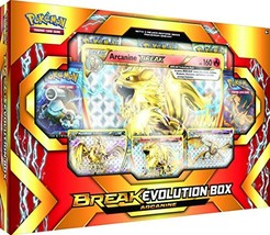 Pokémon Cards POK17BEARCABX TCG: Break Evolution Box Featuring Arcanine - $32.86