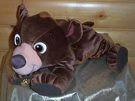 """BIG SALE BIG PLUSH Disney Brother Bear JUMBO TALKING KODA 24"""" WEE CARE - $14.99"""