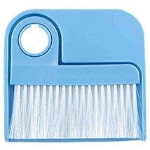 2 PCS Dustpan Broom Suit Car Duster Brush Cleaning Brush(Blue)