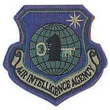 Usaf Air Force Air Intelligence Agency Od Subdued Embroidered Patch - $13.53