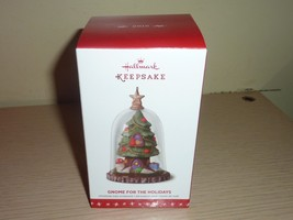 Hallmark 2016 Ornament New in Box ~ Gnome For The Holidays - $20.79