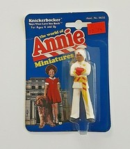 "Vintage 1982 ""The World Of Annie""  Punjab Knickerbocker Miniatures Figurine - $12.00"