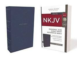 NKJV, Reference Bible, Personal Size Giant Print, Leathersoft, Blue, Red... - $24.99