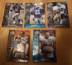 1995 bowman's best football lot of 5 cards - $1.00