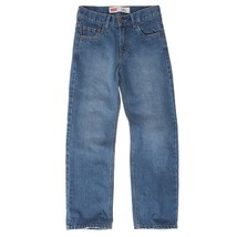 NWT $40 Boys Levis 514 Jeans Straight Fit Blurred Blue Size 12 16 Half Price! - $19.99