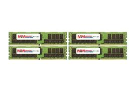 MemoryMasters 64GB (4x16GB) DDR4-2400MHz PC4-19200 ECC RDIMM 2Rx4 1.2V Registere - $216.81
