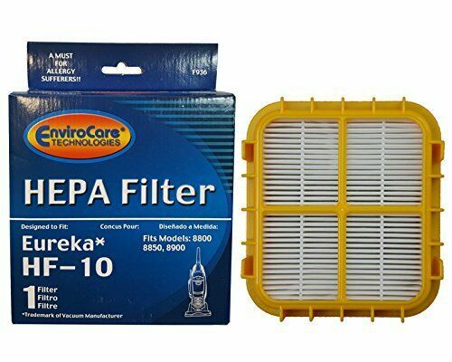 1 Eureka HF-10 Pleated HEPA Vacuum Filter Upright Boss Capture Pet Lover 63358 - $12.43