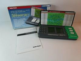 1993 Radio Shack Championship Golf Ii Handheld Electronic Game No. 60-2423 w/Box - £5.81 GBP