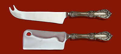 Primary image for Burgundy by Reed & Barton Sterling Silver Cheese Serving Set 2pc HHWS  Custom