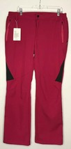 Wantdo Womens Ski SNOW Pants Pink Insulated Fleece Softshell Windproof L... - $46.74
