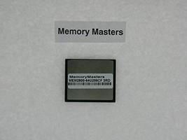 MEM2800-64U256CF 256MB Flash for Cisco 2801 2811 2821 2851(MemoryMasters) - $24.13